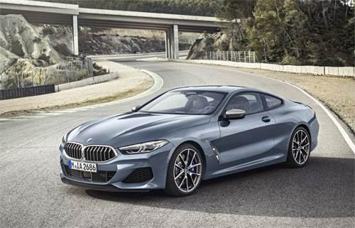 BMW serie 8 Coupe trình làng, đấu Mercedes S-class Coupe