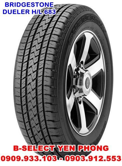 Lốp Xe Du Lịch Bridgestone Dueler 225/60R18 D683