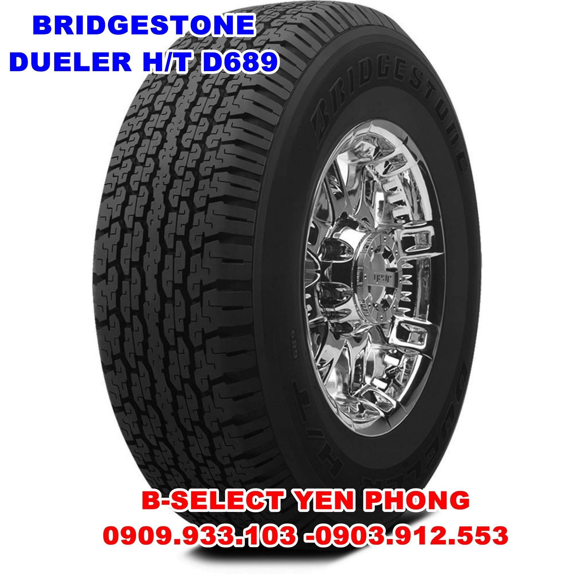 Lốp Xe Du Lịch Bridgestone Dueler 205R16C 8PR D689