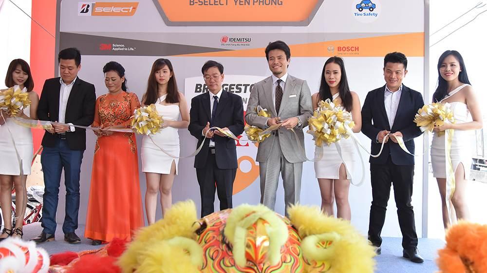 Bridgestone Lăn bánh an toàn tại B Select Yến Phong