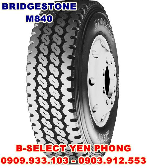 Lốp Xe Tải Bridgestone 12R225 16PR M840