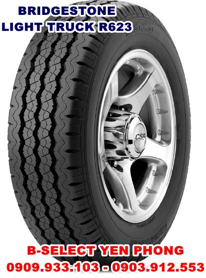 Lốp xe tải nhẹ Bridgestone 155R12C 8PR
