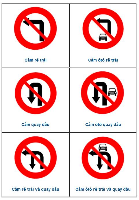 Các loại biển cấm thường gây tranh cãi ở Việt Nam
