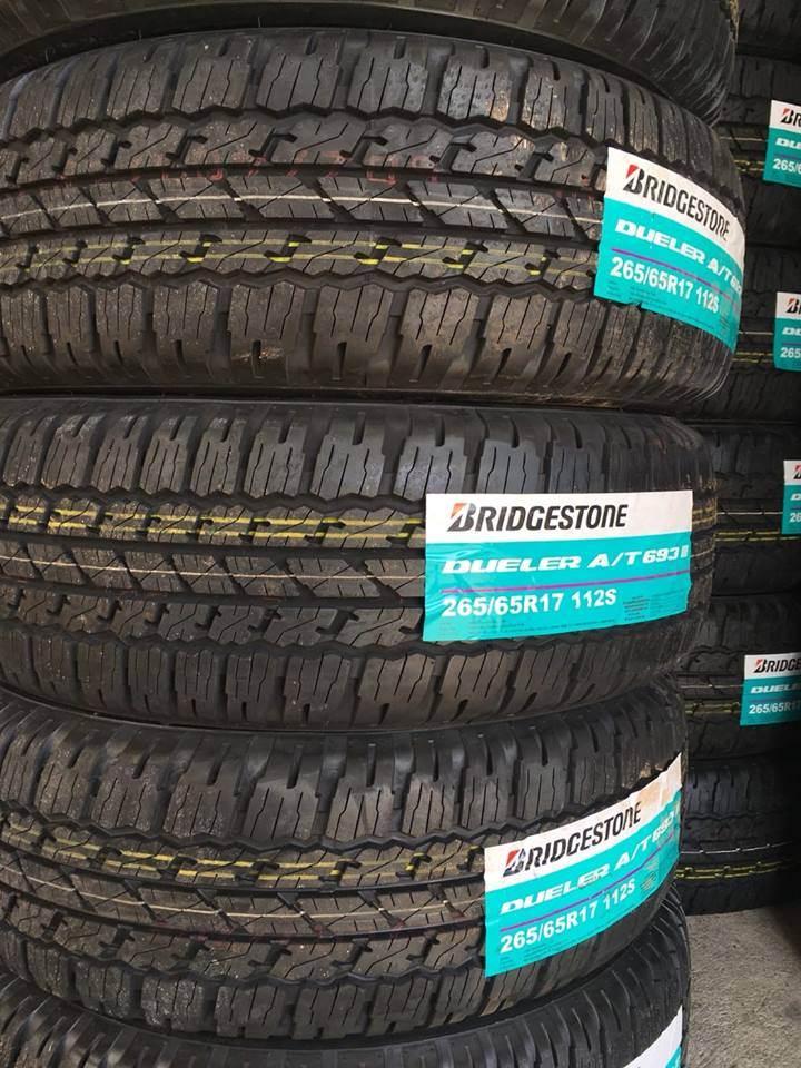 Cung cấp dòng lốp theo xe Fortuner - Bridgestone chính hãng