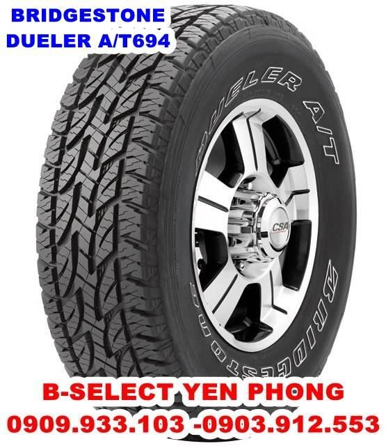 Lốp Xe Du Lịch Bridgestone Dueler 275/70R16 D694