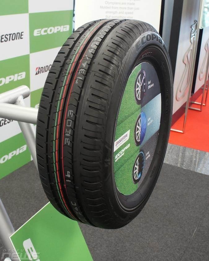 Bridgestone Ecopia EP300 2017 thế hệ lốp tiết kiệm hoàn toàn mới