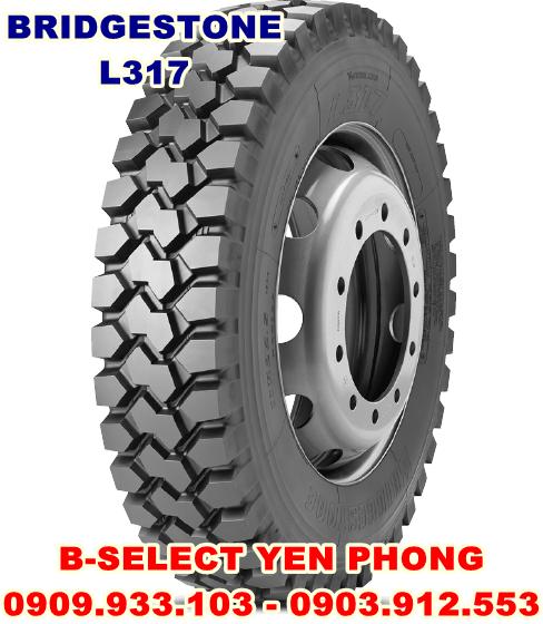 Lốp Xe Tải Bridgestone 1200R20 18PR L317
