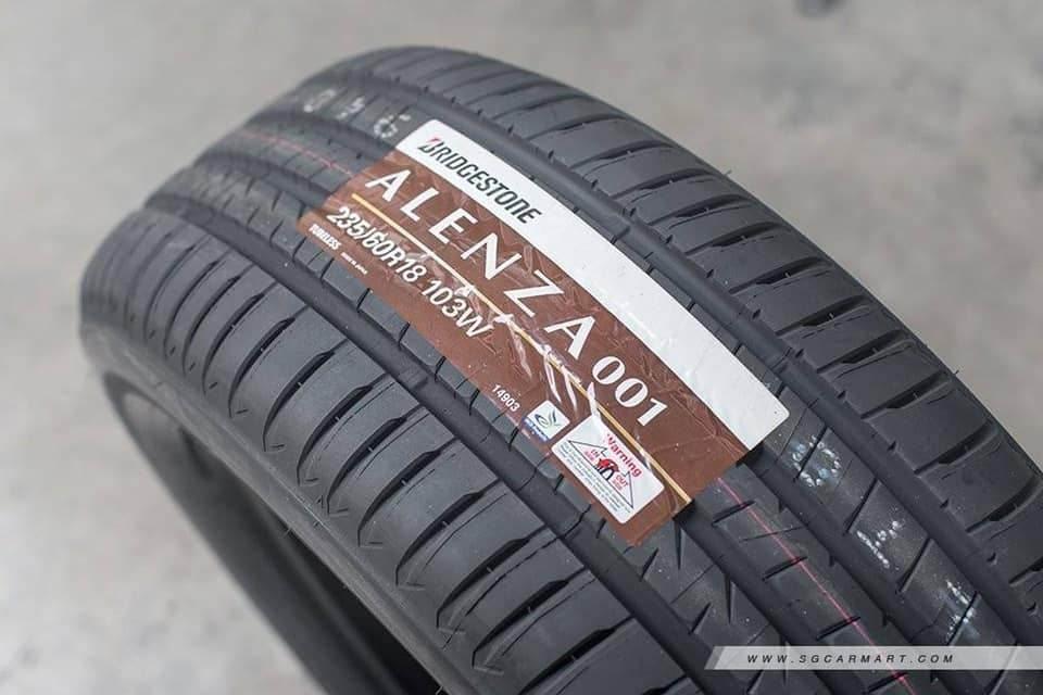 Lốp xe Bridgestone Alenza siêu êm ái dành cho Sedona mua 3 tặng 1