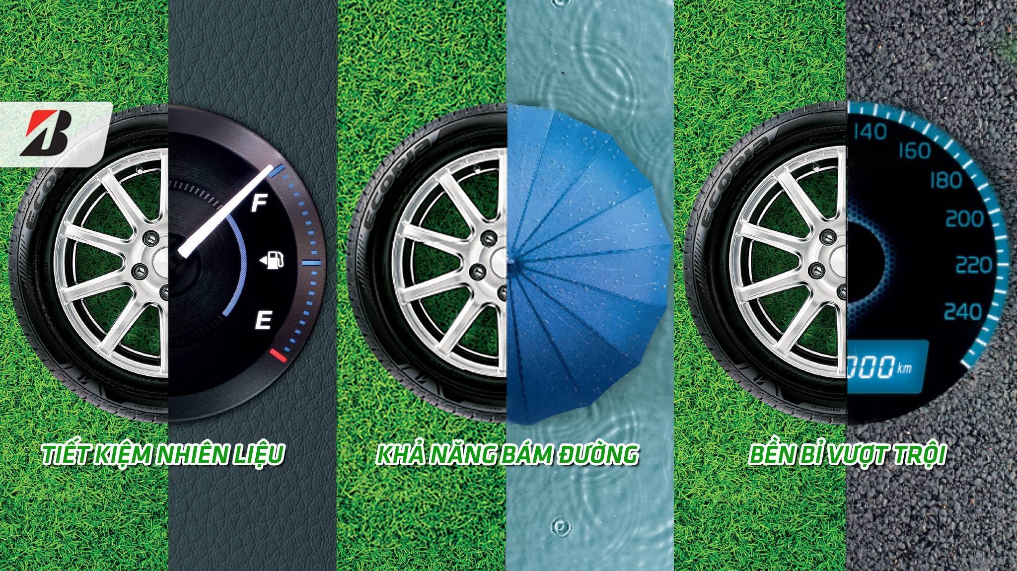 Lốp xe Ecopia EP300 thân-thiện môi trường