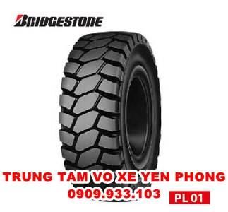 Lốp Đặc Xe Nâng Bridgestone 600-15 PL01