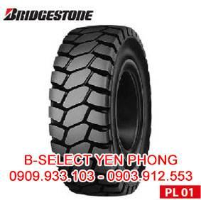 Lốp Đặc Xe Nâng Bridgestone 300-15 PL01