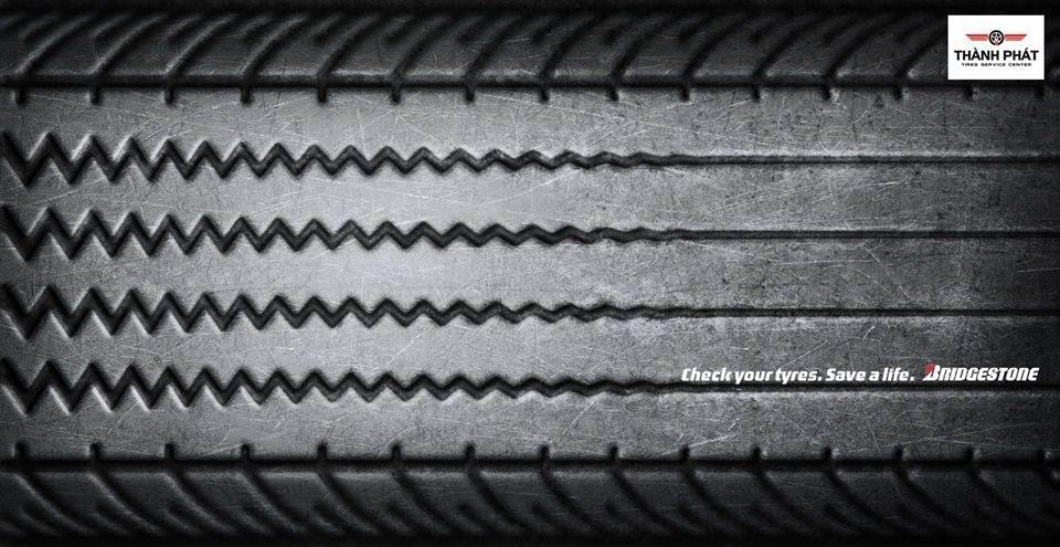 Tại sao lốp xe mòn lại kém an toàn