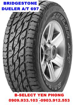 Lốp Xe Bridgestone Dueler AT D697 265/70R15