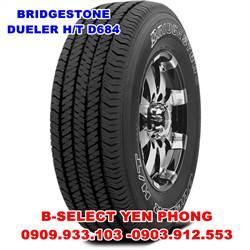 Lốp Xe Du Lịch Bridgestone Dueler 255/60R18 XLPR 684A