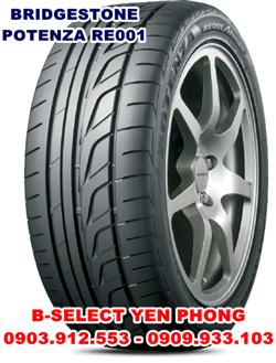 Lốp Xe Du Lịch Bridgestone Potenza 225/55R17 RE001