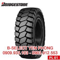 Lốp Đặc Xe Nâng Bridgestone 500-8 PL01